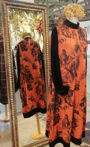 Vestito Orange